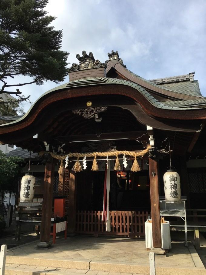 京都熊野神社拝殿