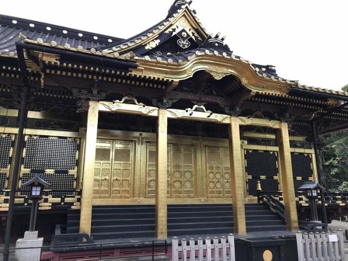 上野東照宮拝殿