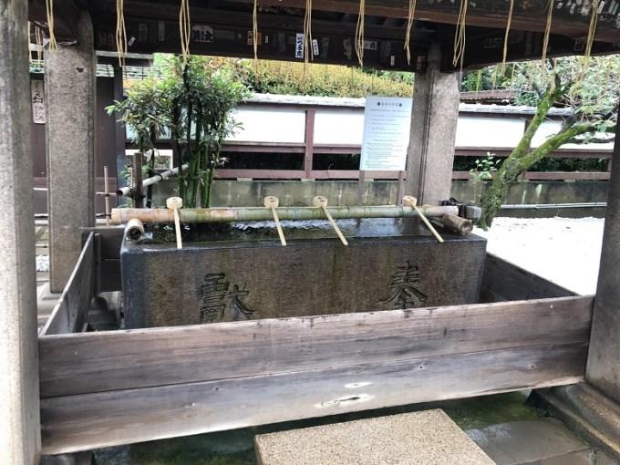 上野東照宮手水石