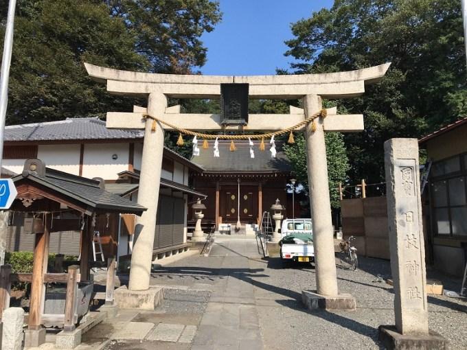 仙波日枝神社鳥居