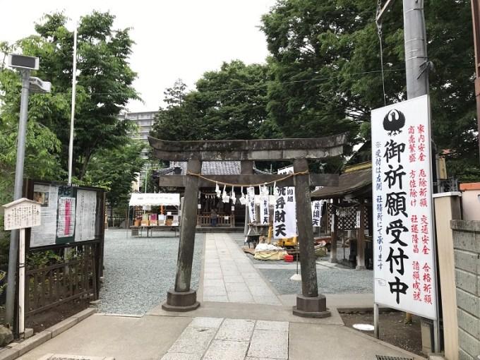 川越熊野神社二の鳥居