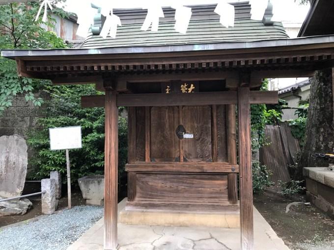 川越熊野神社大鷲神社拝殿