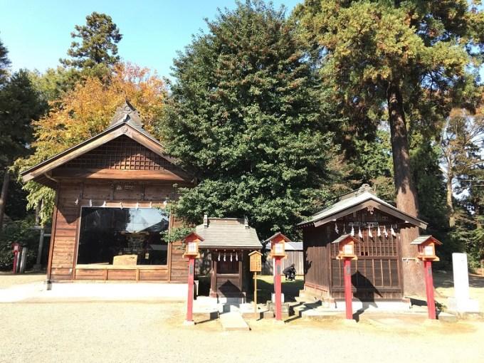 鷲宮神社八坂神社