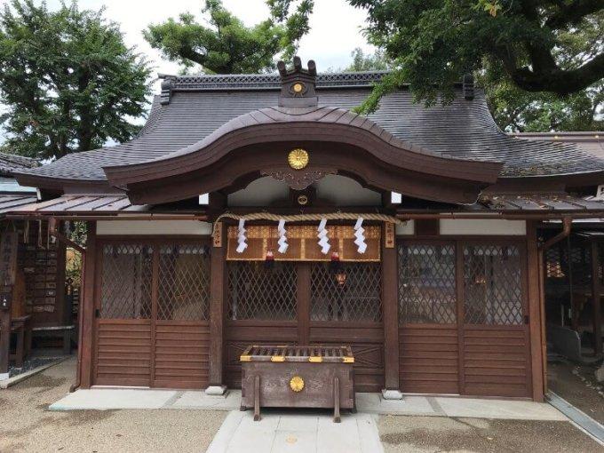 護王神社祈願殿
