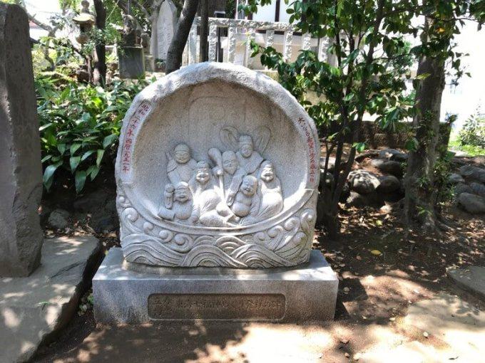 品川神社東海七福神めぐり発祥の碑