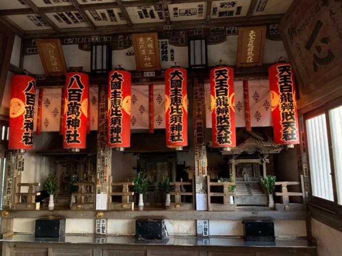 品川神社祠