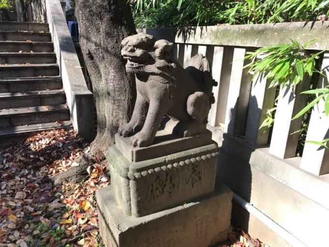 櫻田神社狛犬右