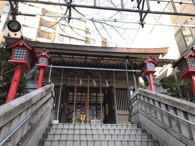 十番稲荷神社階段