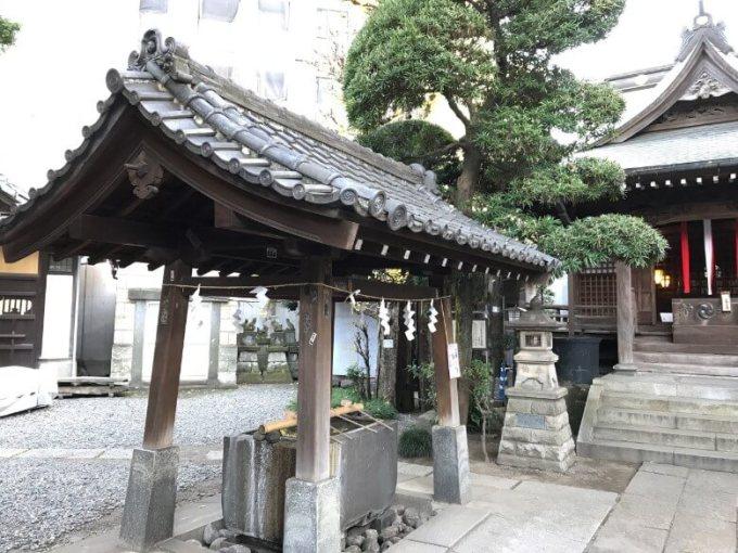 廣尾稲荷神社手水舎