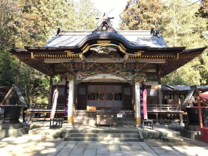 宝登山神社拝殿