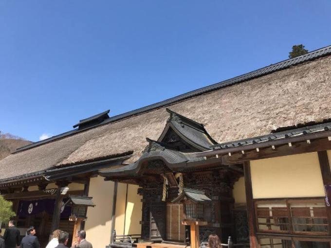 古峯神社本殿