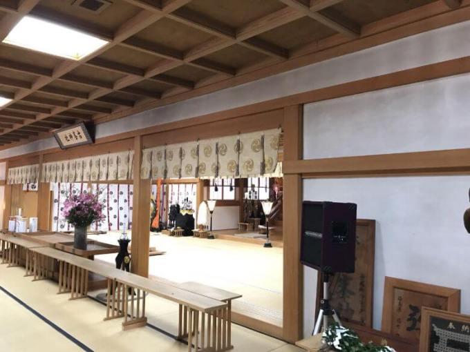 古峯神社ご祈祷所