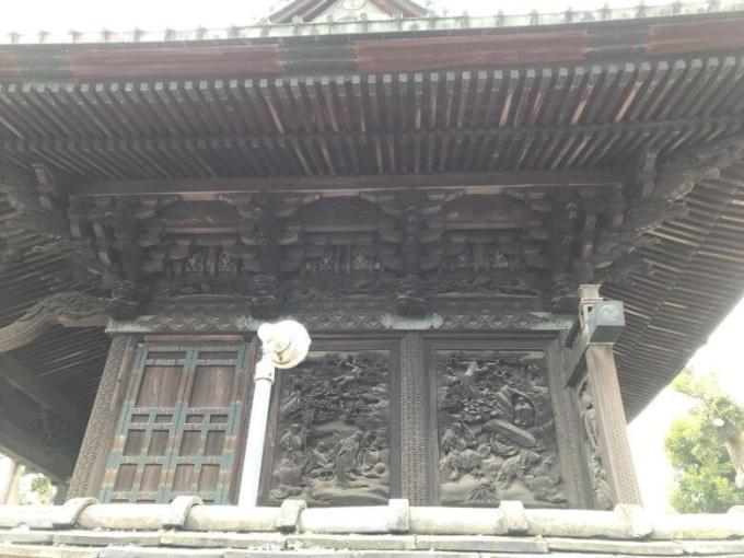 下総野田愛宕神社彫刻1