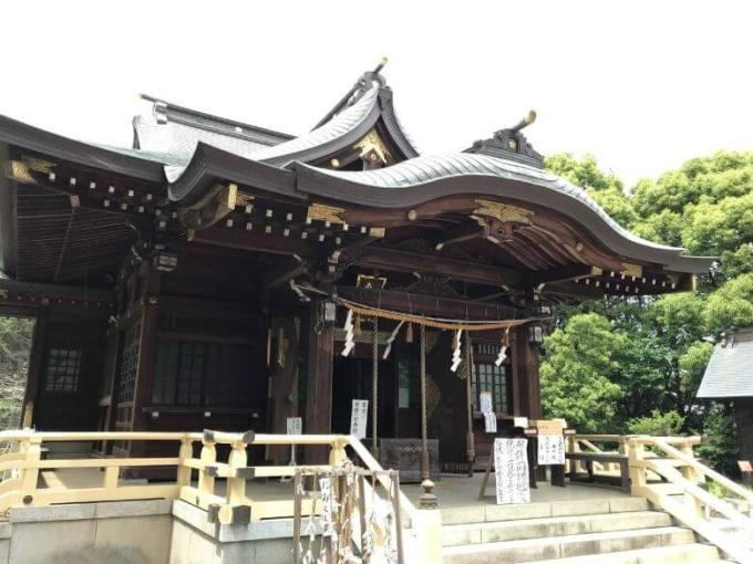 東沼神社社殿