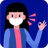 Corona (COVID-19) virüsü için önlem alın,  Maske Takın