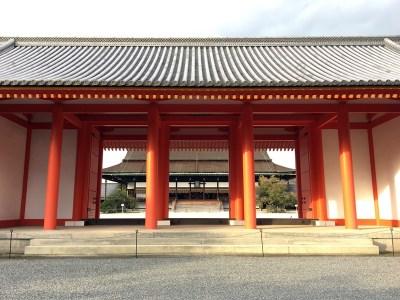 京都御所の「紫宸殿」