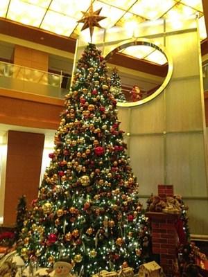 毎年見事なツリー