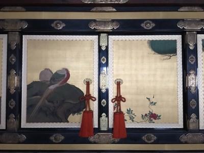 とあるお城の襖絵
