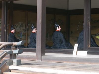 京都御所一般公開 束帯姿