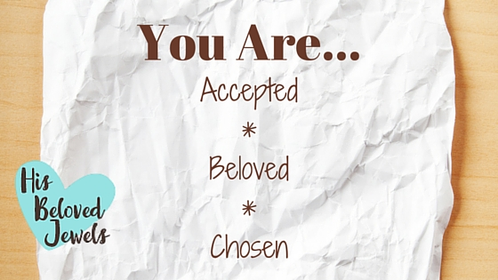 accepted beloved chosen