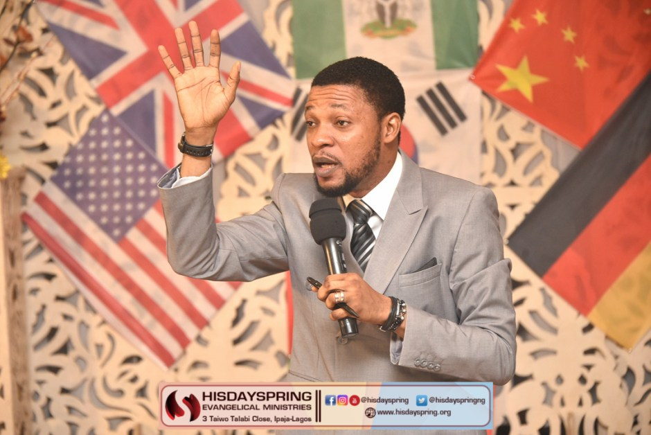 """Pastor Blessing preaching on """"Supernatural my birthright"""""""