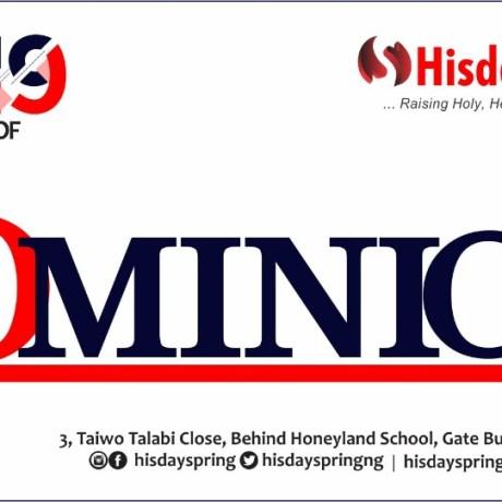 hisdayspring-2019-yearof-dominion