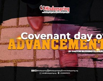 covenant-advancement-hisdayspring-blessingolamijulo