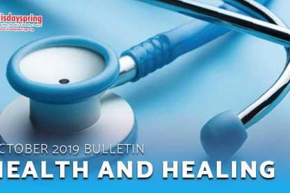 Health and Healing - October 2019 Bulletin