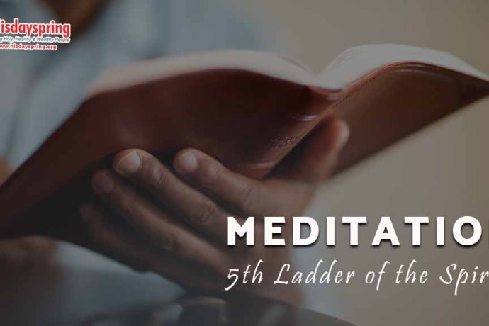 MEDITATION - 5th Ladder of the Spirit