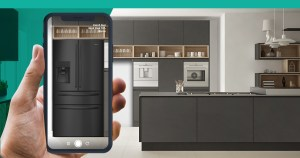 Using the Hisense Home AR App to choose the right fridge for your home