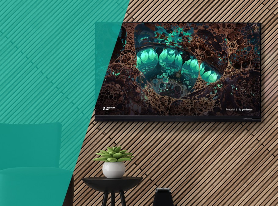 Elevate your living space with Hisense VIDAA Art