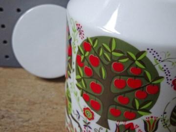 Vintage Bidasoa ceramic jar   H is for Home