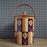 Tin biscuit barrel