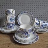 Blue Elizabethan Carnaby trios