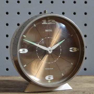Bronze Smiths alarm clock