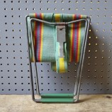 Vintage camping seat | H is for Home