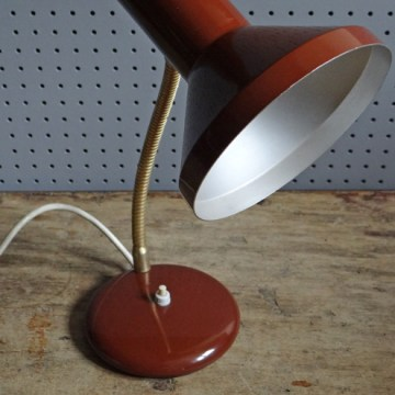 chocolate brown desk lamp