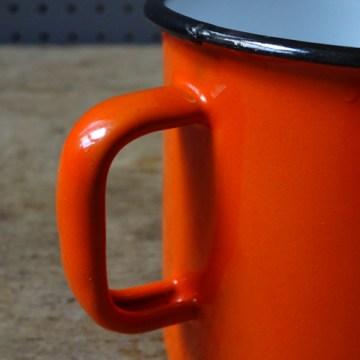 Daisy enamel mug | H is for Home