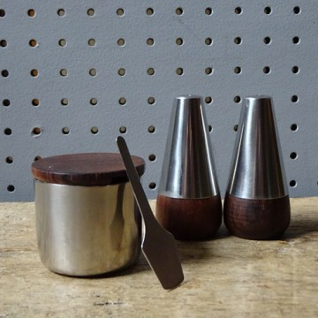 Vintage Danish cruet set | H is for Home