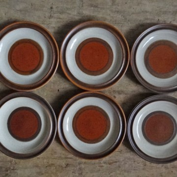 Denby Potters Wheel side plates