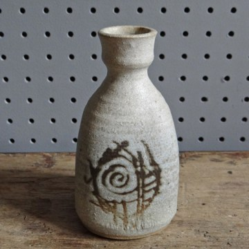 Small earthernware bottle