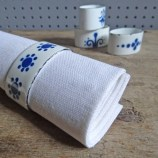 Enamel napkin rings