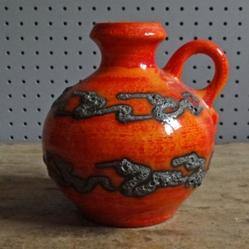 Walther Gerhards fat lava vase 270 / 16