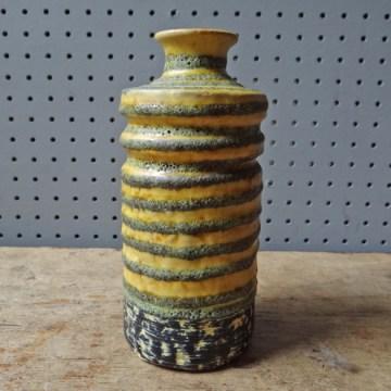 GDR fat lava vase