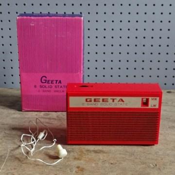 Geeta transistor radio