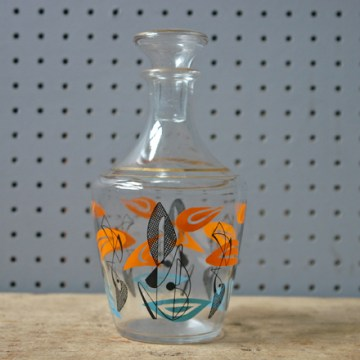 Vintage glass carafe