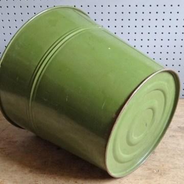green waste paper bin