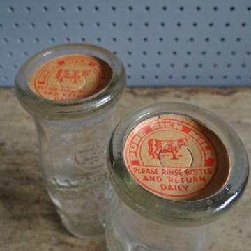 1/3 pint school milk bottles