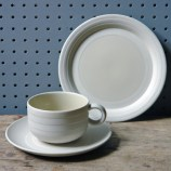 Vintage Hornsea Concept tea trio designed by Martin Hunt in 1977 | H is for Home