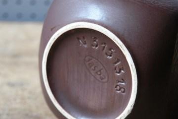 Vintage Jasba vase stamp | H is for Home
